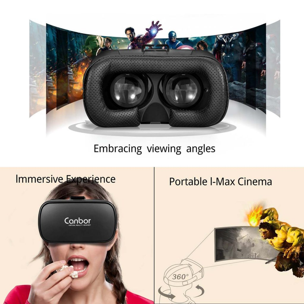 Canbor VR Headset Features