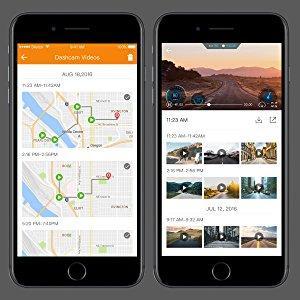 Roav by Anker Dash Cam C1 Pro built in gps-mobile app