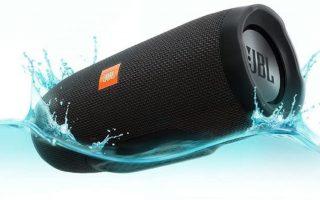 JBL Charge 3 – Best Waterproof Bluetooth Speaker