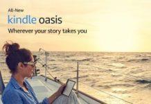 Amazon Kindle Oasis - The Ultimate Waterproof E-reader