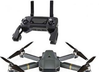 The DJI Mavic Pro Drone - with remote at its lowest price at Amazon