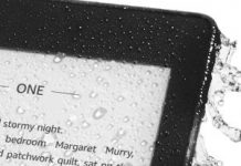 All-new Kindle Paperwhite waterproof