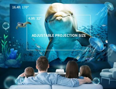 projectors for home theater - larger better quality image