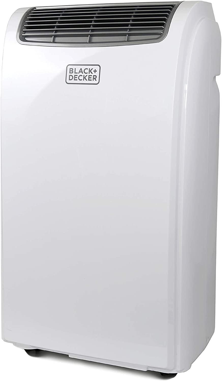 BLACK+DECKER BPACT08WT Portable Air Conditioner with Remote Control, 5,000 BTU