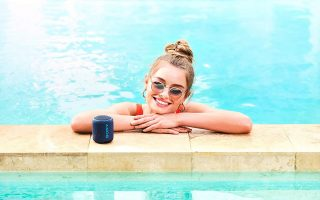 Best Portable Bluetooth speaker - Sony Compact and Portable Waterproof Wireless Speaker with Extra Bass