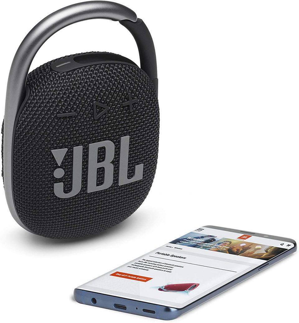 Best Portable bluetooth speaker - JBL Clip 4