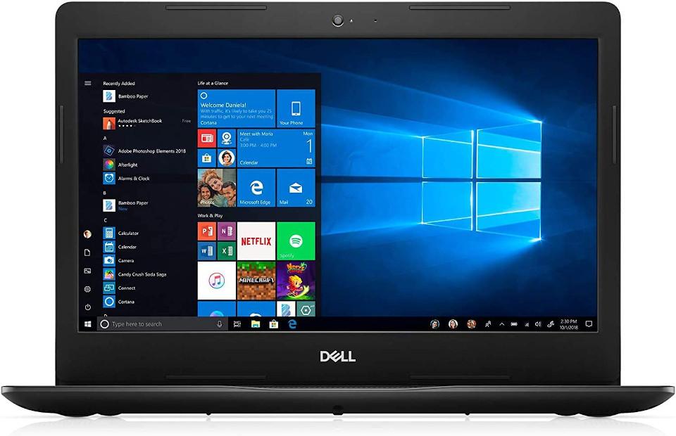 Dell Inspiron 15 3000 best laptop under 400
