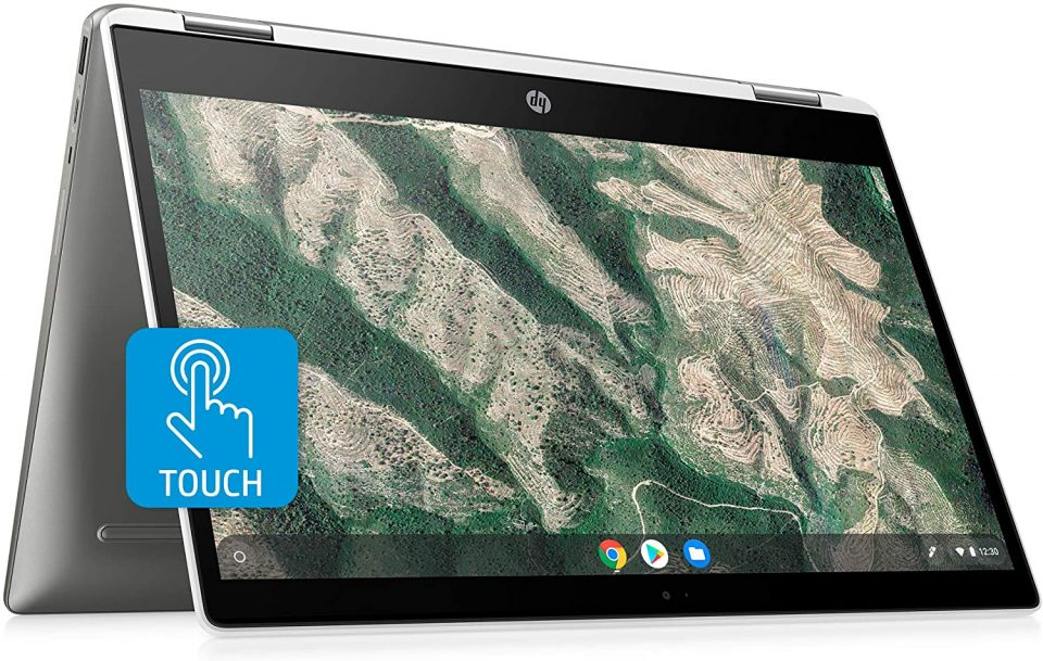 HP Chromebook X360 14 Inch HD Touchscreen Laptop