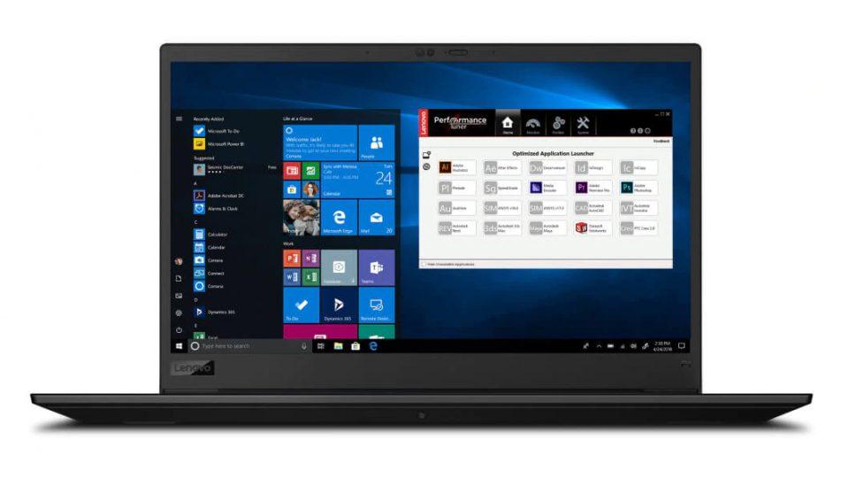 Lenovo ThinkPad P1 Mobile Workstation - best laptop for engineering