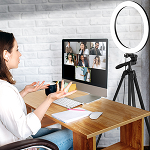 Ring Light With Stand - Desk