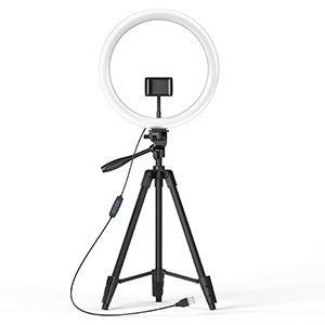 Ring Light With Stand - tripod with light