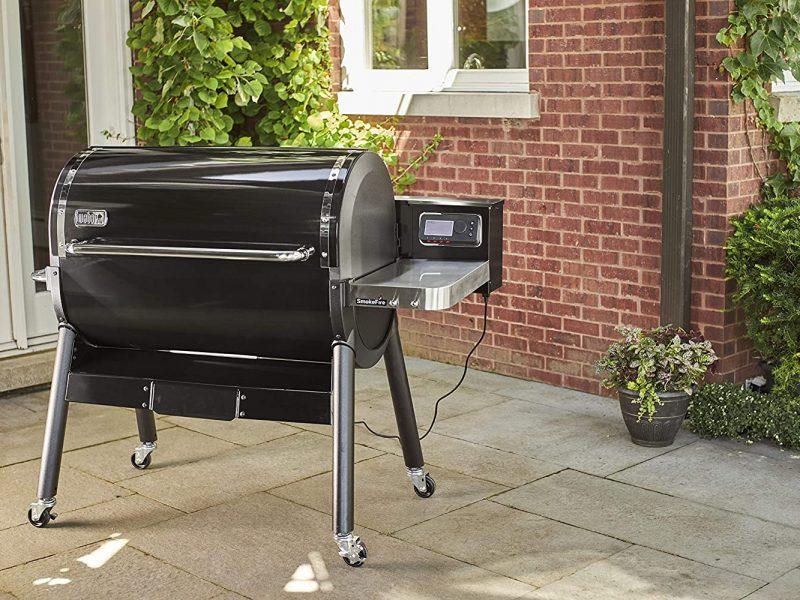 Best Weber Pellet Smoker: Weber SmokeFire EX6 Wood Fired Pellet Grill