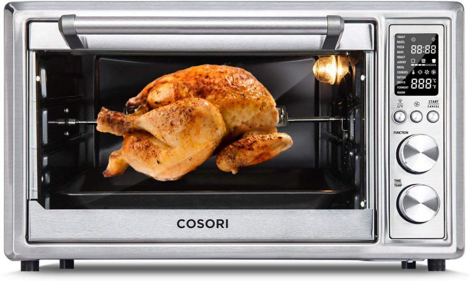 COSORI CO130-AO Air Fryer Toaster Combo