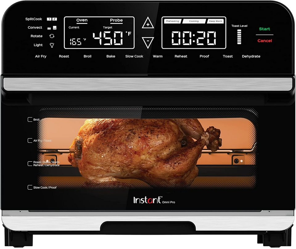 Instant Omni Pro 14 in 1 Air Fryer Convection Toaster Oven Combo