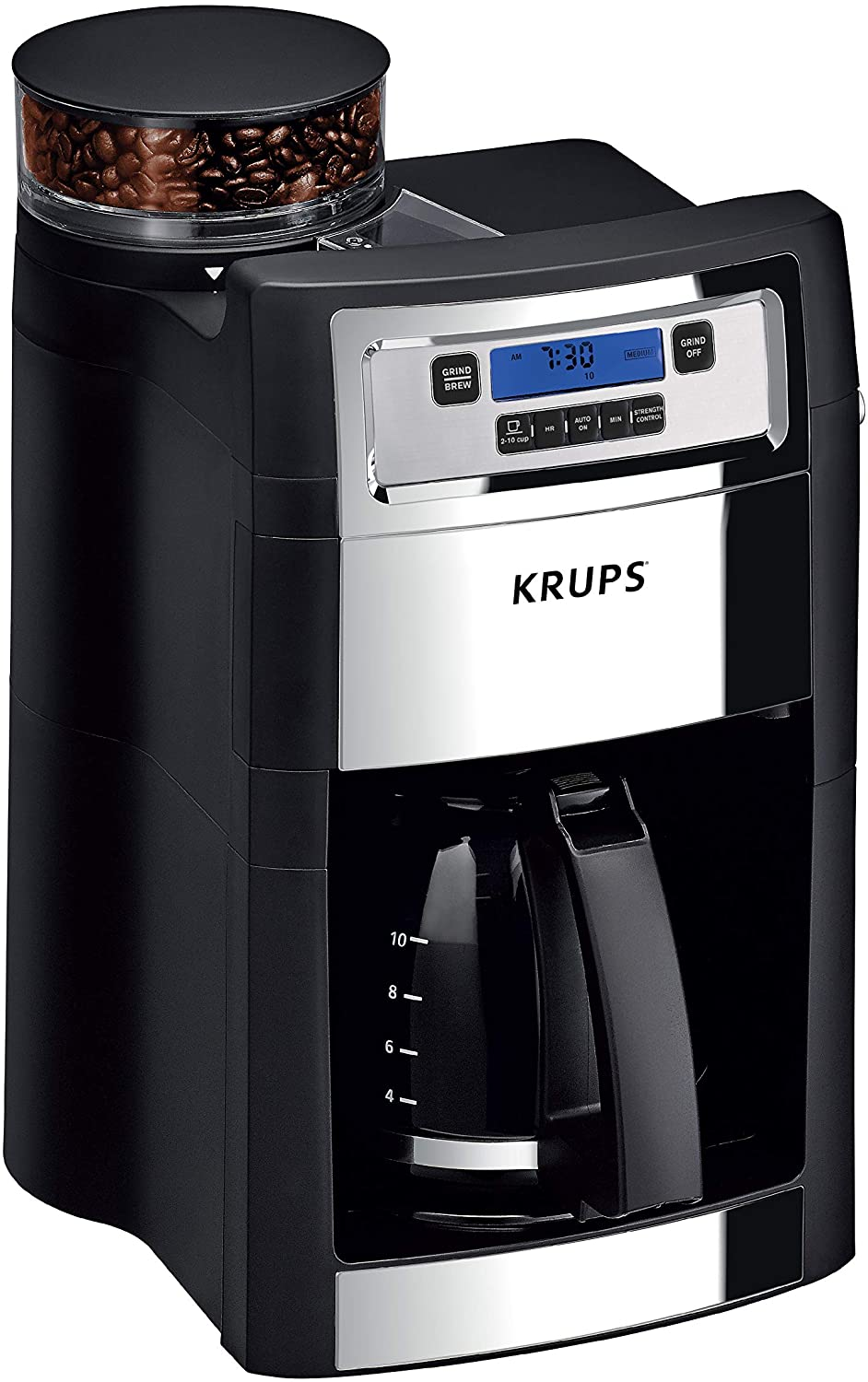 KRUPS Grind and Brew Coffee Maker