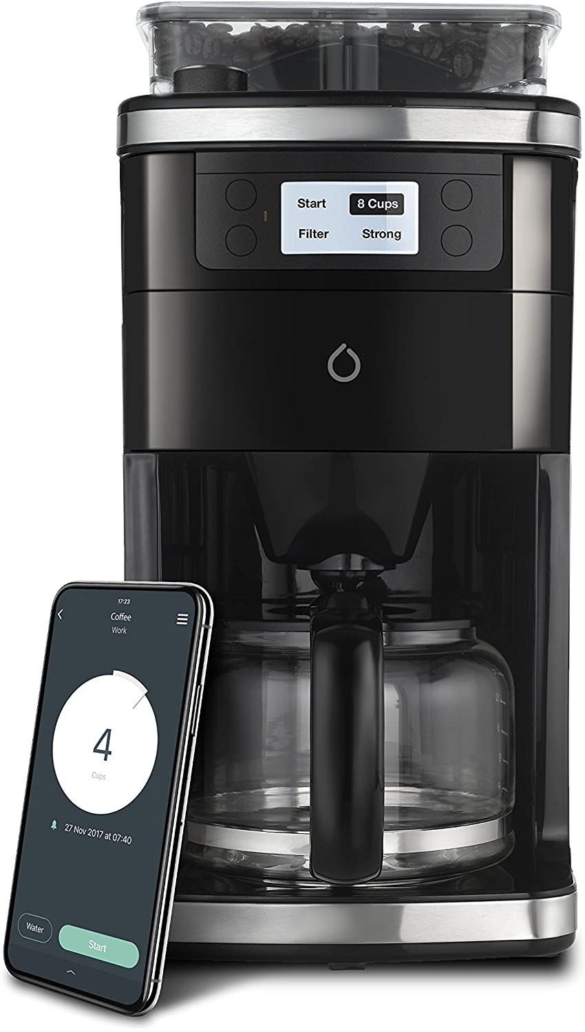 Smarter Grind and Brew Coffee Maker SMC01